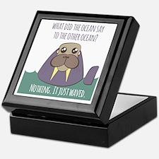 Walrus Joke Keepsake Box