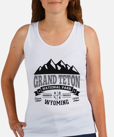 Grand Teton Vintage Women's Tank Top