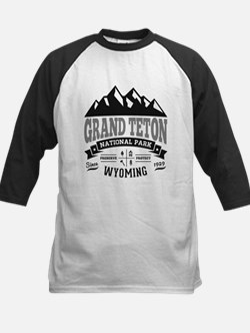 Grand Teton Vintage Kids Baseball Jersey