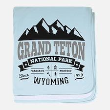 Grand Teton Vintage baby blanket