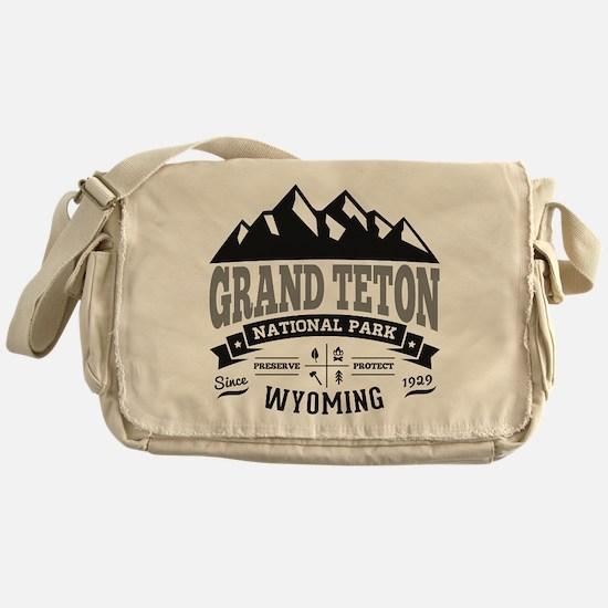 Grand Teton Vintage Messenger Bag