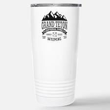 Grand Teton Vintage Stainless Steel Travel Mug