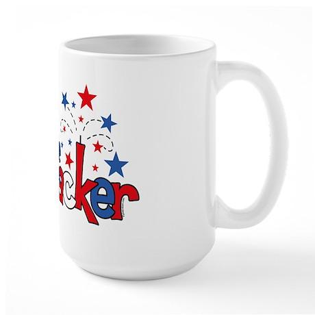 Little Firecracker Large Mug