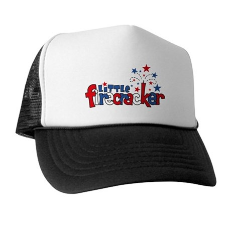 Little Firecracker Trucker Hat