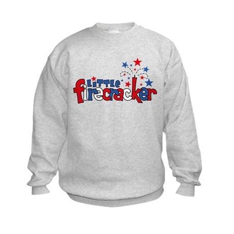 Little Firecracker Kids Sweatshirt