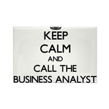 Keep calm and call the Business Analyst Magnets