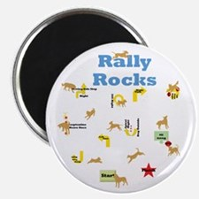 """Rally 4 2.25"""" Magnet (10 pack)"""