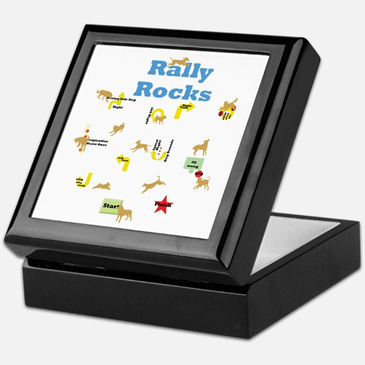 Rally 4 Keepsake Box