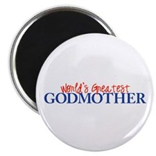 "World's Greatest Godmother II 2.25"" Magnet (10 pac"