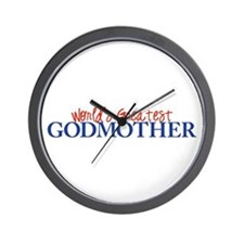 World's Greatest Godmother II Wall Clock