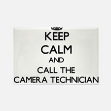 Keep calm and call the Camera Technician Magnets