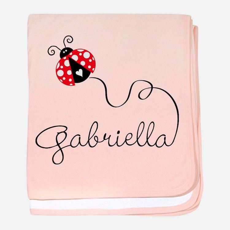 Ladybug Gabriella Baby Blanket