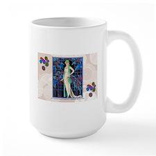 Barbier Art Deco Night Roses Mugs