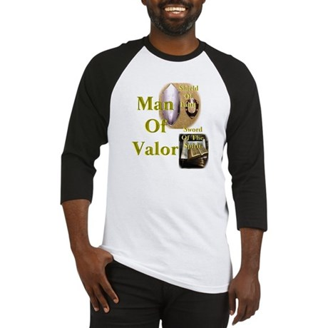 man of valor Baseball Jersey