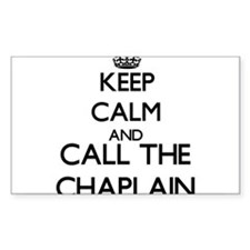 Keep calm and call the Chaplain Decal