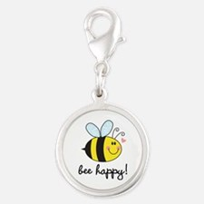 Bee Happy Charms