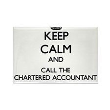 Keep calm and call the Chartered Accountant Magnet