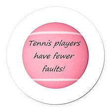 Unique Tennis ball Round Car Magnet