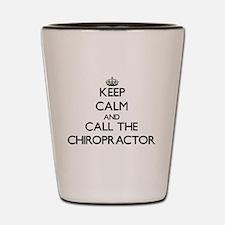Cute Chiropractor Shot Glass