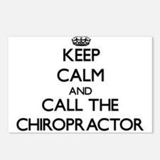 Cute Chiropractic Postcards (Package of 8)