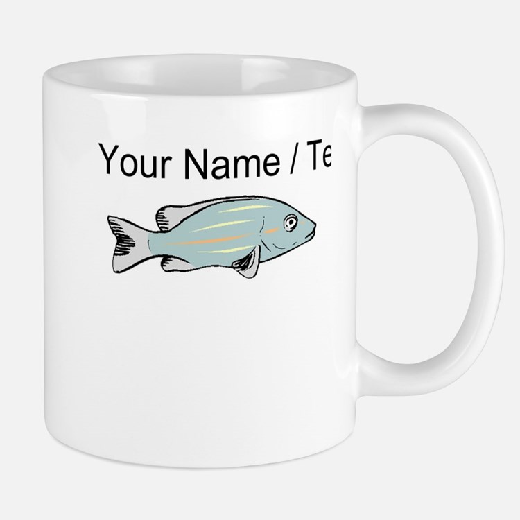 Custom Gulper Fish Mugs