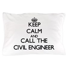 Cute Civil engineering surveyors Pillow Case