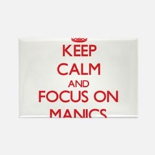 Keep Calm and focus on Manics Magnets