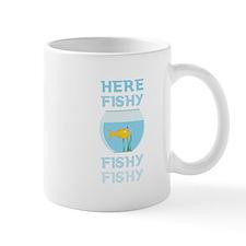Here Fishy Mugs