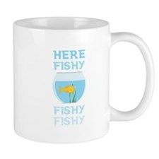 Here Fishy Mugs
