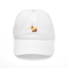 Fast Food Baseball Baseball Cap