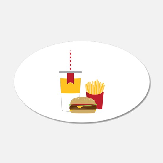 Fast Food Wall Decal