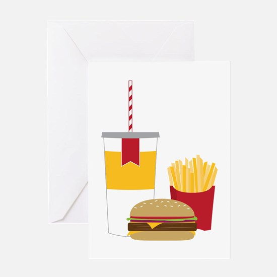 Fast Food Greeting Cards