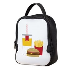 Fast Food Neoprene Lunch Bag