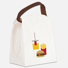Fast Food Canvas Lunch Bag
