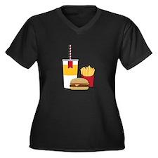 Fast Food Plus Size T-Shirt