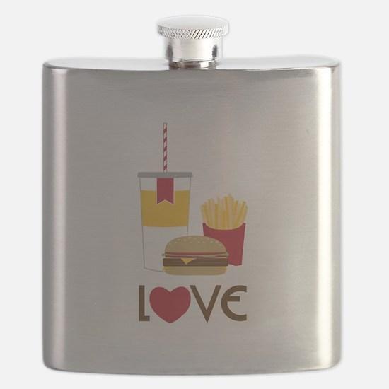 Love Fast Food Flask