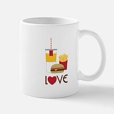 Love Fast Food Mugs