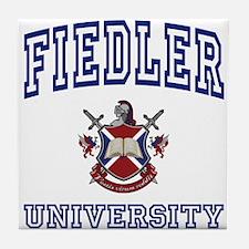 FIEDLER University Tile Coaster