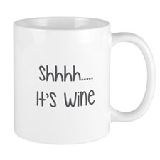 Shhh.... It's Wine Mugs