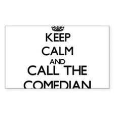 Keep calm and call the Comedian Decal