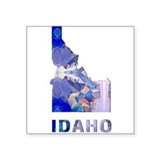 IDAHO MAP Sticker