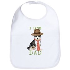 Husky Dad Bib