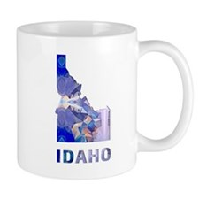 IDAHO MAP Mugs