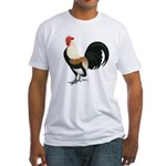 Dutch Bantam Rooster Fitted T-Shirt