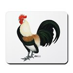 Dutch Bantam Rooster Mousepad