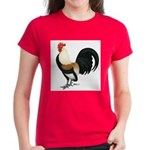 Dutch Bantam Rooster Women's Dark T-Shirt