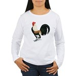 Dutch Bantam Rooster Women's Long Sleeve T-Shirt