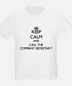 Keep calm and call the Company Secretary T-Shirt