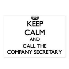 Cool Secretary Postcards (Package of 8)