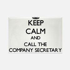 Keep calm and call the Company Secretary Magnets